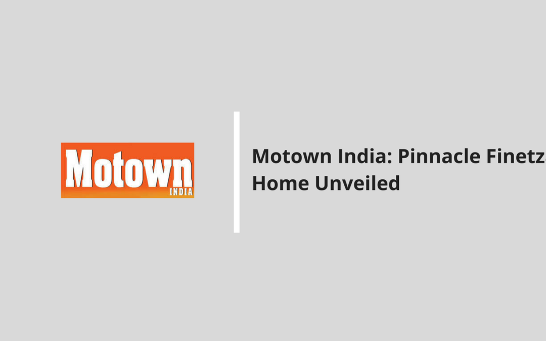 Motown India: Pinnacle Finetza Motor Home Unveiled